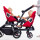 Modern Orbit Baby Double Helix Double Stroller : Strolling Time Is Sibling Time