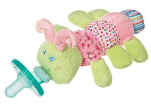 Wubbanub Plush Toy Pacifier - Cutsie Caterpillar