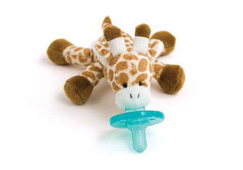 Wubbanub Plush Toy Pacifier - Giraffe