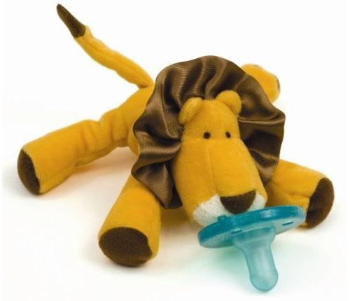 Wubbanub Plush Toy Pacifier - Lion