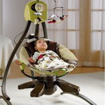 Zen Collection Cradle Baby Swing Is A Great Place For Your Kids To Sleep