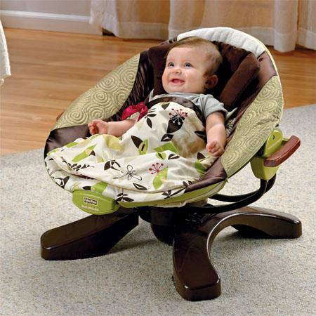 Zen Collection Cradle Baby Swing