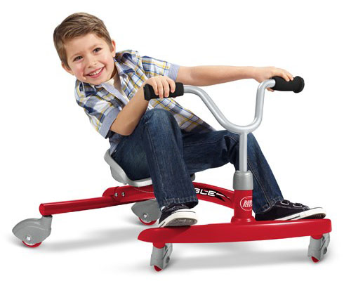 Radio Flyer Ziggle Makes Your Kids Twist and Wiggle to Glide and Giggle
