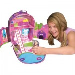 ZipBin Dollhouse Backpack : Fantasy Kingdom On-The-Go !