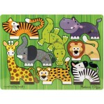 Best Birthday Gift Mix 'n Match Puzzle - Zoo Safari